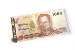baht 1000 tailandês Fotografia de Stock Royalty Free