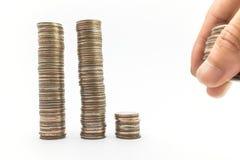 Baht del dinero Imagenes de archivo
