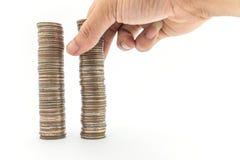 Baht del dinero Imagen de archivo libre de regalías
