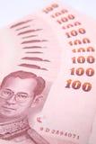 Baht der Querneigung-100 von Thailand. Lizenzfreie Stockfotos