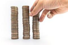 Baht do dinheiro Imagem de Stock Royalty Free
