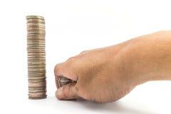 Baht do dinheiro Imagem de Stock