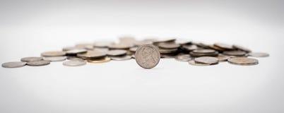 Baht monety brogować wpólnie Fotografia Stock