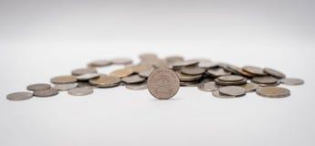 Baht monety brogować wpólnie Fotografia Royalty Free