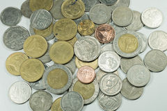 Baht tailandês da moeda Imagem de Stock Royalty Free