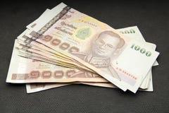baht 1000 thaï Image stock