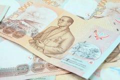 1000 Bahtbanknoten Lizenzfreie Stockfotos
