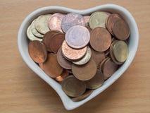 Bahtmünzen Stockfotografie