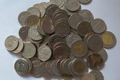 Bahtmünzen Lizenzfreies Stockbild