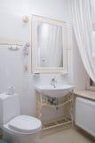 bahtroom εσωτερικό ξενοδοχείω Στοκ Φωτογραφία