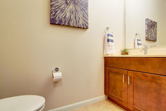 Bahtroom corner view Stock Image