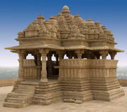 bahu堡垒gwalior印度saas 库存照片