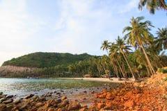 Bai άτομα (παραλία ατόμων), Nam du islands, επαρχία Kien Giang, Vietna Στοκ Φωτογραφίες