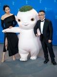 Bai Baihe i Raman Hui przy Berlinale 2018, ` Buba potwora ` Zdjęcia Stock