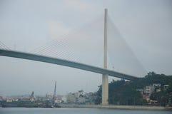 Bai Chay Bridge during the day Royalty Free Stock Photos