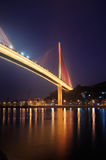 Bai Chay Bridge at Night Royalty Free Stock Photo