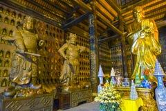 Bai Dinh ναός Βιετνάμ Στοκ Εικόνα