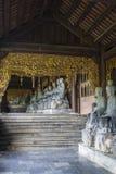 Bai Dinh Buddhist Temple Vietnam arkivfoto