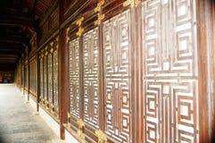 Bai Dinh Pagoda Arkivbild
