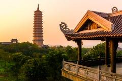 Bai Dinh Pagoda - le complexe de temple biggiest au Vietnam, Trang, Ninh Binh photos libres de droits