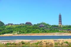 Bai Dinh Temple complex Stock Photography