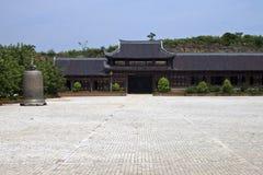 Bai Dinh temple Royalty Free Stock Image