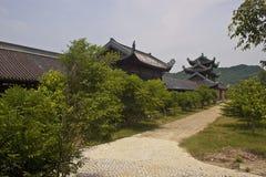 Bai Dinh temple Royalty Free Stock Photos