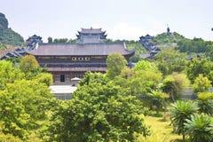 Bai Dinh temple Royalty Free Stock Photo