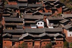 Bai  dwellings in southwest China Stock Photos