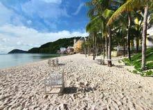 The Bai Khem Beach is one of the most beautiful beaches in Phu Quoc Island, vietnam Stock Photos