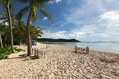 The Bai Khem Beach is one of the most beautiful beaches in Phu Quoc Island, vietnam Royalty Free Stock Image
