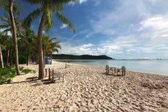 Bai Khem plaża jest jeden piękne plaże w Phu Quoc wyspie, Vietnam obraz royalty free