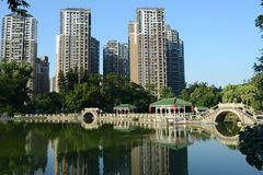 Bai Ling Dong Park - The beautiful park in the Zhuhai city