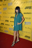 Bai Ling on the red carpet. Royalty Free Stock Images