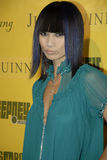 Bai Ling on the red carpet. Royalty Free Stock Image