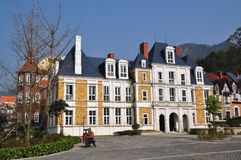 Bai Lu,China: Grand Manor House in Sino-French Village Royalty Free Stock Photo
