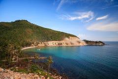 Bai Men Men Beach, ilhas de Nam Du, província de Kien Giang, Vietname Fotografia de Stock Royalty Free