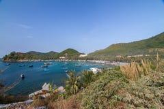 Bai Men (praia), ilhas dos homens de Nam Du, província de Kien Giang, Vietna Fotos de Stock Royalty Free