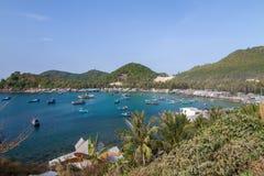 Bai Men (praia), ilhas dos homens de Nam Du, província de Kien Giang, Vietna Imagens de Stock Royalty Free