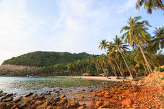 Bai Men (praia), ilhas dos homens de Nam Du, província de Kien Giang, Vietna Fotos de Stock