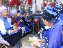 Bai People Playing Music en China Imagen de archivo libre de regalías
