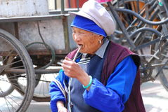 Bai people in Southwest  China Royalty Free Stock Photos