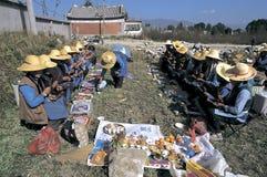 Bai people in Southwest  China Stock Photos
