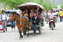 Bai people in Southwest  China Stock Photography