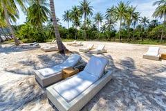 Bai Sao Beach, het Eiland van Phu Quoc, Vietnam Royalty-vrije Stock Afbeelding