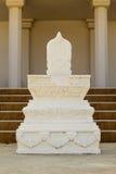 Bai Sema,标志表明佛教寺庙疆土  免版税库存照片