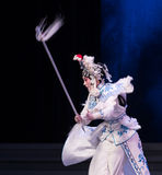 "Bai Suzhen marksmanship-The sixth act water overflows golden hill-Kunqu Opera""Madame White Snake"" Stock Image"
