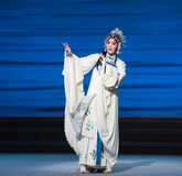 """Bai Suzhen's fate-The seventh act Disintegration of families-Kunqu Opera""""Madame White Snake"""". Legend of the White Snake is one of the most famous tales Royalty Free Stock Photo"""
