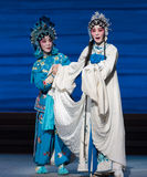 "Bai Suzhen's fate-The seventh act Disintegration of families-Kunqu Opera""Madame White Snake"" Stock Photo"