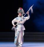 "Bai Suzhen-The sixth act water overflows golden hill-Kunqu Opera""Madame White Snake"" Royalty Free Stock Photos"